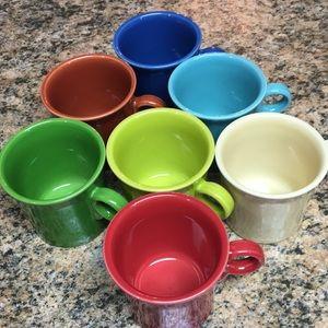7- Fiesta Coffee Mugs